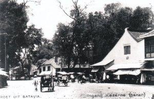 Ingang Kazerne