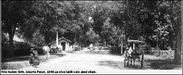 Kebon Sirih1890