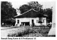 Rumah Bung Karno Jl Proklamasi Jakarta